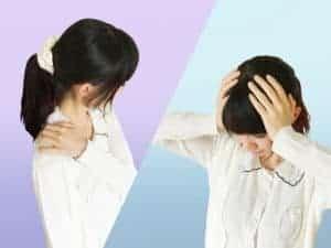 肩こりと頭痛