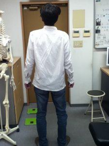 骨盤が戻る