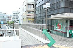 スロープ階段